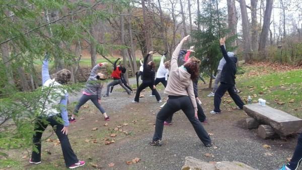 Greenbrier Yoga Hike