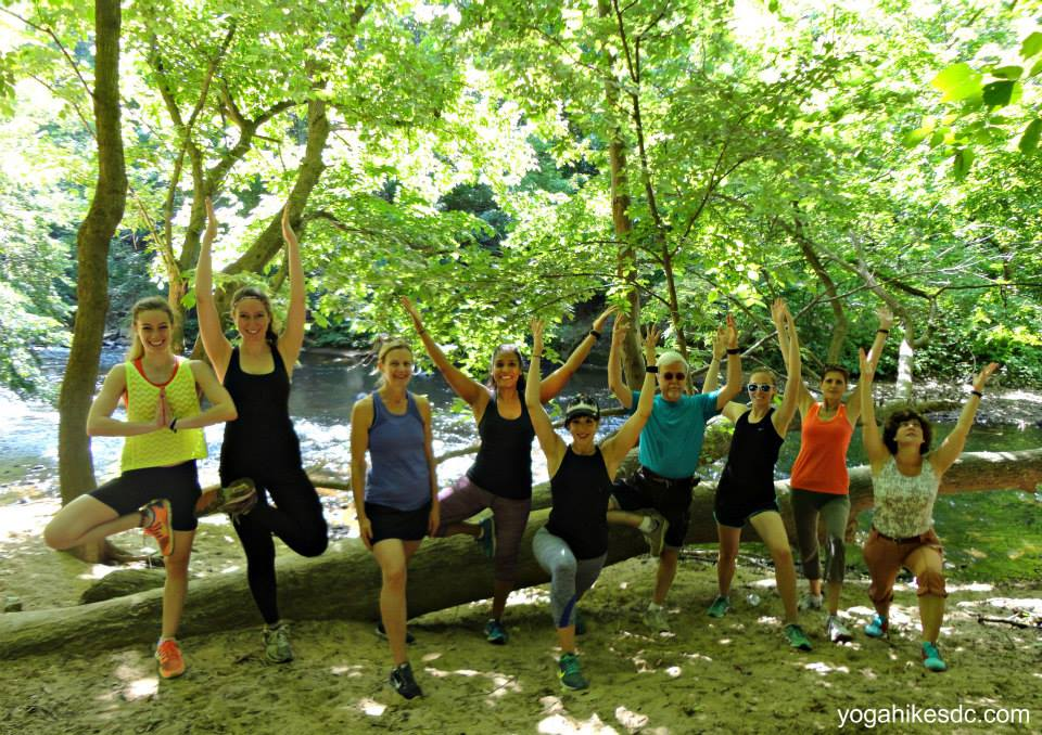 Weekends are for Yoga Hikes!